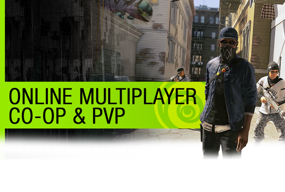Online Multiplayer (Co-Op & PVP) - GamesCom 2016