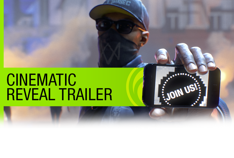 WatchDogs 2 E3 2016 CG Trailer