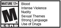 [Watch Dogs 2] ESRB M + Descriptors (arial)